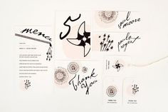 wedding stationary by #maemaepaperie