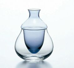 Japanese SAKE Bottle Tokkuri Reishu Iced Glass Carafe Variation made in Japan Sake Bottle, Japanese Sake, Wine Decanter, Carafe, Vase, How To Make, Ebay, Fashion, Industrial Lamps