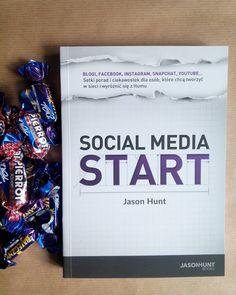 To będzie dobry wieczór  z #socialmediastart #jasonhunt  #jasonhuntbooks #books #książka #podręcznik #socialmedia #czytambolubię #blogerka #blog #blogger w stylu Tomka i piesi #cukierki zawsze i wszędzie . by blowerka.pl