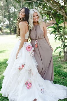 Show Me Your Mumu Bohemian Lakeside Wedding