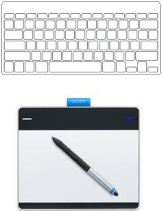 intuos pen touch small  compare sg