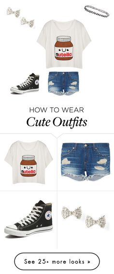 """Cute summer outfit"" by mrrosen on Polyvore featuring rag & bone, Converse, women's clothing, women's fashion, women, female, woman, misses and juniors"