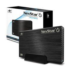 Vantec NexStar 6G NST-366S3-BK 3.5 inch SATA3 to USB 3.0 External Hard Drive Enclosure (Black)