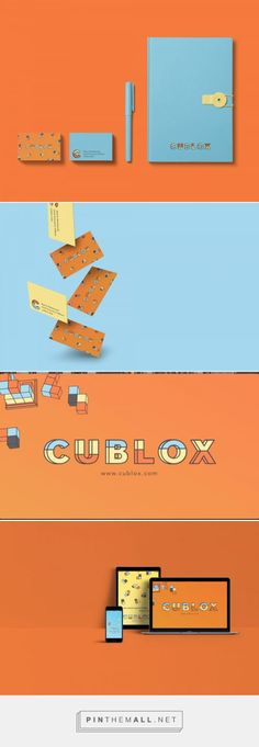 Cublox Cube Stacking Game Rebranding by Maisie MacDonald | Fivestar Branding Agency – Design and Branding Agency & Curated Inspiration Gallery  #designinspiration #branding #fivestarbrandingagency #businesscarddesign