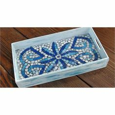 lovely mosaic tray by Casa y Jardin DECO mosaic tray