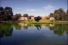 McClelland Sculpture Park and Gallery is set in 16 hectares of bush and landscaped gardens in Langwarrin, 4kms east of Frankston. A 40 minute drive from Melbourne's CBD along the Eastlink and Peninsula Link Freeways. Turn off at either the Skye Road or Cranbourne-Frankston exits to get to 390 McClelland Drive. Entry by donation. FREE parking. Tues-Sun. 10-5pm. Cafe closes on Mon.