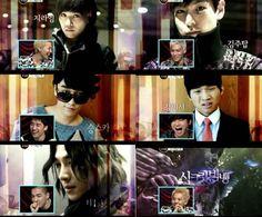 Secret Big Bang - Big Bang's parody of the KDrama Secret Garden.     http://www.youtube.com/playlist?list=PL3265537FAA2B0C5A