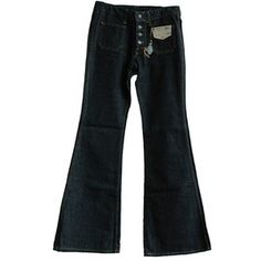 Bell button jeans