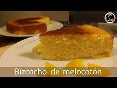 Bizcocho jugoso de melocotón, fácil y rápido - Peach cake   #TonioCocina 133 - YouTube