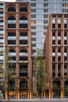 The changing face (and height) of Australian high-rise – Brickworks Building Pro… - Architecture Architecture Concept Drawings, Brick Architecture, Australian Architecture, Futuristic Architecture, Residential Architecture, Architecture Details, Facade Lighting, Tadao Ando, Brick Facade
