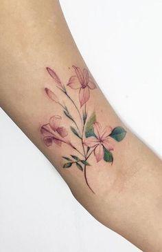 Fatih Odabas flower tattoo