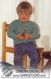 Vest en Sokken van Baby-Ull ~ DROPS Design