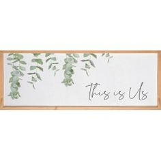 Uniquely crafted, this sign features a soft, textured backing overlaid with elegant design and sentiment. The texture adds depth and light shadowing. Deep frames allow for wall hanging or tabletop display. Word Block, Table Top Display, Wall Décor, Graham, Overlays, Framed Art, Texture, Collections, Words