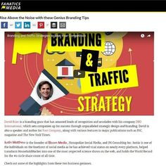 """#regram via @taketwo78 """"Had a blast with CEO of @fanaticsmedia @fanzeal Mr. @markfidelman & CEO David Brier of @risingabovethenoise talking about #branding & traffic strategy.  Check it out on Fanatics Media youtube channel or read the article rise above the noise with these genius branding tips!  #socialmediatips #digitalmarketing #iboommedia #jmhhacker #socialmedia #influencermarketing #success"""""""