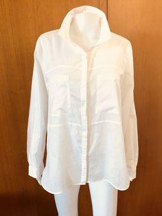 Mesop-White Cotton Shirt-Size 14  | eBay