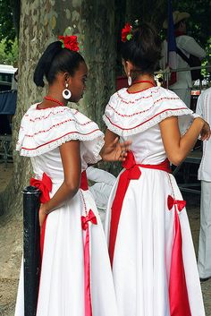 Cuban Folk Costume and Dance by peace-on-earth.org, via Flickr   - Explore the World with Travel Nerd Nici, one Country at a Time. http://TravelNerdNici.com