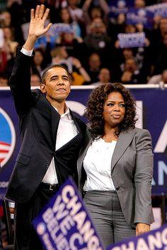 Obama and Oprah