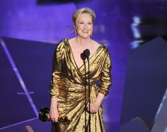 one-of-a-kind Meryl Streep.