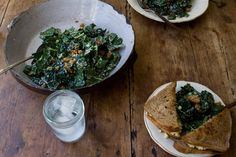 Raw Tuscan Kale Salad from @101cookbooks
