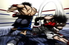 Thinking that Ippo does not have what it takes, Takamura gives him a task deemed… Bd Comics, Manga Comics, Hajime No Ippo Wallpaper, Gorillaz, All Anime, Anime Art, Mangaka Anime, Mi Images, Boxing Posters