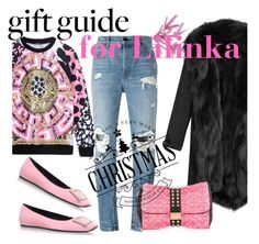 """""""Untitled #4197"""" by julinka111 ❤ liked on Polyvore featuring Versace, Alexander Wang, Roger Vivier, Barbed and Louis Vuitton"""
