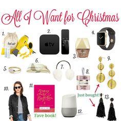Gift Guide: My Christmas Wishlist