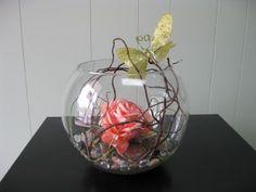 Enchanted Forest Floating Flower Table Centerpiece / Cocktail Arrangements