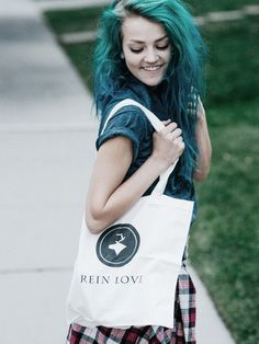 Rein Love tote bag --------------- http://reinloveclothing.com/ https://instagram.com/reinloveclothing/ #StayWild #ReinLove #fashion #style #edgy #hipster #haircolor #accessories #Tromsø #Norway #wild #lifestyle #streetwear #clothing #ecofriendly #ReinLove #StayWild