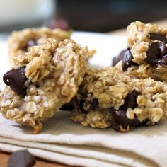 Chocolate Chip Oatmeal Breakfast Cookie by Nick