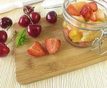 10 idées recettes pour cuisiner à partir d'une boite de pêches ou d'abricots au sirop - Diaporama 750 grammes