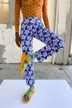 Fast Fashion, Look Fashion, Fashion Outfits, Womens Fashion, Funky Pants, Hawaiian Print, Printed Pants, Facon, Fashion Killa