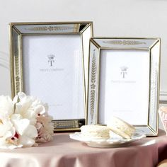 DecRenew: Twos Company 7804 Triomphe Photo Frame (4 Sets, Pack of 2 per Set) TWO-7804