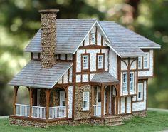 Tudor Style Dollhouse