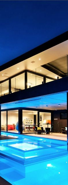 Luxury House | Wandana Residence by James Deans & Associates: Gorgeous Pool!!