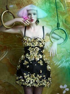 elle canada2 Neil Mota Lenses Eastern Fantasy for Elle Canada December 2012