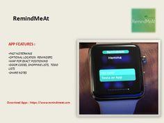 https://flic.kr/p/GXZUtq | Advanced iOS Reminders - Best Task Manager App | Follow Us On : www.facebook.com/RemindMeAt   Apps Link :- itunes.apple.com/us/app/apple-store/id948654827?pt=117130...