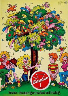 Sinalco by Heiri Schmid, 1973