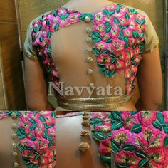 Designer blouse For further details contact us on + 919892398900, + 919930413660