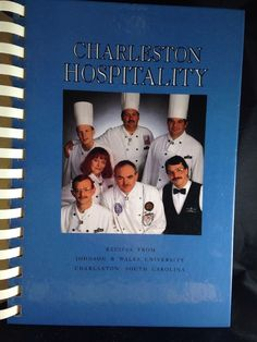 Cookbook Charleston Hospitality 1993 Mixed Drink Pairings Johnston Wales Food   eBay