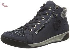 Jenny  Seattle, Sneakers Basses femme - Bleu - Blau (Blau,gun 06), EU 40 (UK 6.5) - Chaussures jenny (*Partner-Link)