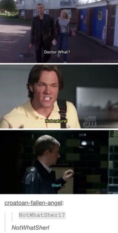 Forget the name SuperWhoLock now it's NotWhatSherl