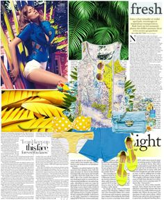 """""""Fresh summer"""" by vexybabe ❤ liked on Polyvore"""