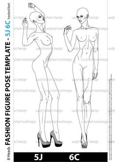 Fashion figure poses Archives - Lady Fashion Design