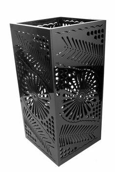 Lámpara Oaxaca - Acrílico con corte láser inspirado en el barro negro de Oaxaca $559.00