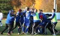 Goshen's boys varsity soccer teams took the Section 9 title after defeating Wallkill on Nov. 4.