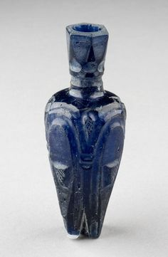 Large molar flask Possibly 9th–10th centuries, Egypt Cut glass Kelsey Museum of Archaeology