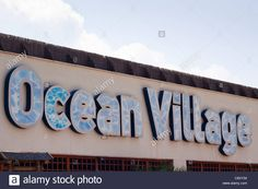 Detail Of Ocean Village Entrance In Gibraltar Stock Photo, Royalty Free Image: 39929992 - Alamy