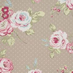 english rose floral lampshade by pins and ribbons | notonthehighstreet.com