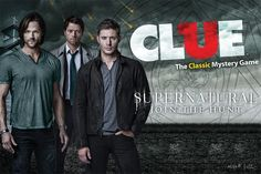 Supernatural Collector's Edition Clue Board Game