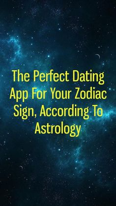 astrology based dating app